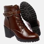 Bota Tratorada Mega Boots em Couro Legitimo - Chocolate - 1428