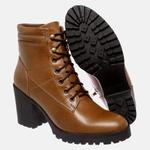 Bota Tratorada Mega Boots em Couro Legitimo - Avelã - 1429