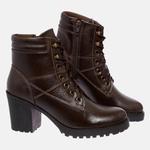 Bota Tratorada Mega Boots em Couro Legitimo - Café - 1429