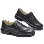 Sapato Masculino Social Preto Confort