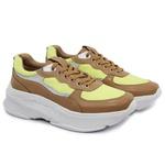 Tênis Sneaker Feminino em Couro 2003 Avela