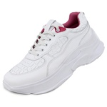 Tênis Sneaker Feminino em Couro 2003 Branco