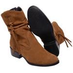 Bota Country Mega Boots 1330 Bonete Caramelo