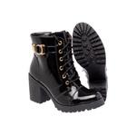 Bota Tratorada Mega Boots 1408 Verniz Preto