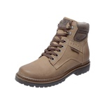Bota Coturno em Couro Mega Boots 6019 Kaki-Expresso