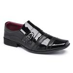 Sapato Social Masculino Em Verniz Preto 803