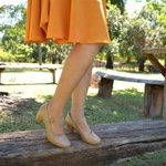 Sapato Mary Jane Ref 3507 Couro Legítimo