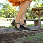 Sapato Mary Jane Ref 2813 Couro Legítimo