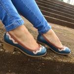 Sapato Maya Comfort Couro Legítimo