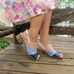 Sandália Maya Comfort Ref 2806 Couro Legítimo