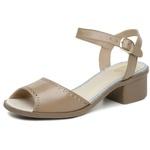 Sandália Maya Comfort Ref 2807 Couro Legítimo