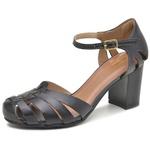 Sapato Boneca Ref 3186 Couro Legítimo