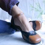 Sapato Lis Bela Couro Legitimo