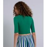 Blusa Canelada Verde - LEZALEZ