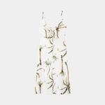 Vestido Midi Crepe Lunender 37995