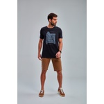 Camiseta Masculina Guilherme Soul Estampada Preta 581840