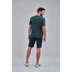Camiseta Masculina Guilherme Soul Verde Estampada 581845