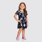 Vestido Infantil Alakazoo Marinho 31793
