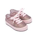 Tenis Infantil Mini Melissa Street Rosa Glitter 33404