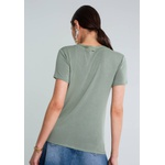 Blusa Decote V Detalhe Trança LEZALEZ L4050
