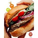 Loucos por Hambúrgueres (5 sabores de hambúrguer veggy)