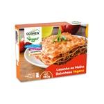 lasanha ao molho bolonhesa vegana 450g - goshen