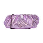 Bolsa Quebec Bubble Lilas Metalizado