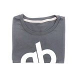 Camiseta Masculina QB Comfort Cinza