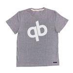 Camiseta Masculina QB Comfort Mescla