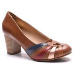 Sapato Feminino Quebec Retrô Munique Chocolate