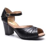 Sapato Feminino Quebec Retrô Young Black