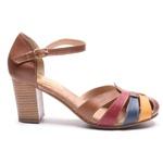 Sapato Feminino Quebec Retrô Loretta Color