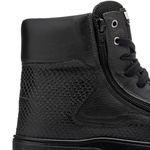 Tênis Sneaker All Black Feminino Rock Fit Rush