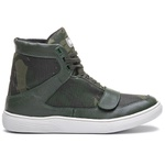 Tênis Sneaker Feminino Rock Fit Red Hot Camuflado Verde