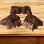 Joystick Grande BWB COD:9814 Forma De Chocolate Acetato com Silicone Especial (3 Partes)