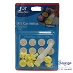 Carimbo p/ Brigadeiro Frutas 8 Peças