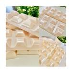 Formas Barras De Chocolate Acetato com Silicone Especial (3 Partes) BWB
