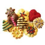 Maquina Manual de Fazer Biscoitos 9 Moldes