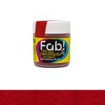 Pó para Decoração Vermelho Rubi Fab 3g