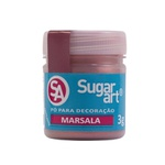 Pó para Decoração Marsala Sugar Art 3g