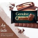 Chocolate Genuine Ao Leite 1kg em Barra