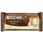 Chocolate Sicao Gold Branco1,01kg em Barra