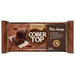 Chocolate Fracionado Cobertop Meio Amargo 1,010kg em Barra