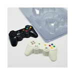 Joystick Pequeno BWB COD:9661 Forma de Chocolate Acetato com Silicone (3 partes)