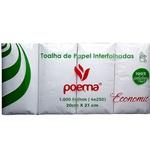 Papel Interfolha Poema Branco 19gm² c/1000 folhas 20x21cm