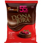 Chocolate em Pó Solúvel 55% Cacau 1,005kg Donajura Sem Lactose