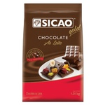 Chocolate Sicao Gold Gotas Ao Leite 1,01kg