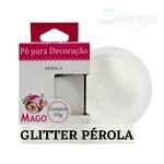 Pó para Decoração/ Glitter Pérola 10g Mago