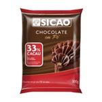 Chocolate em Pó 33% Cacau Sicao 300g