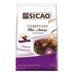 Cobertura Chocolate Sicao Mais Meio Amargo 1,01kg em Gotas